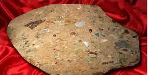 سنگ ساروج و مواد تشکیل دهنده آن